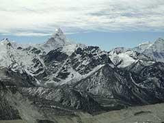 Ama Dablam and High Himalaya