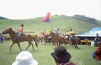 Before the race - Countryside Naadam